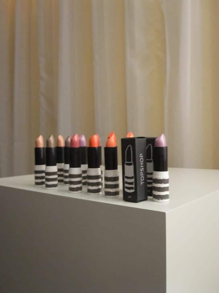 Topshop SS11 make-up