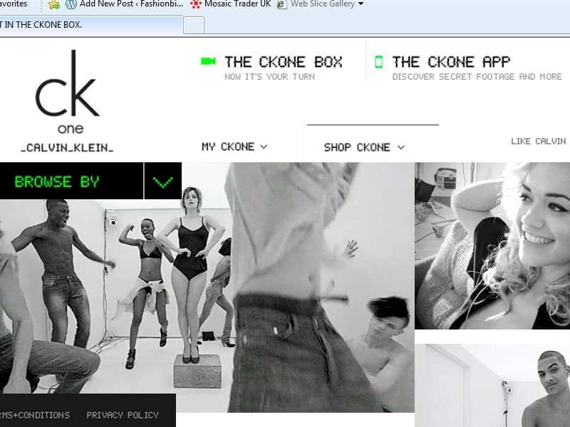 CK One launches new digital campaign