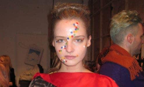Backstage at Louise Gray A/W 2011, FashionBite