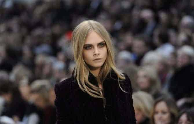 A/W Eyebrows at Burberry, FashionBite