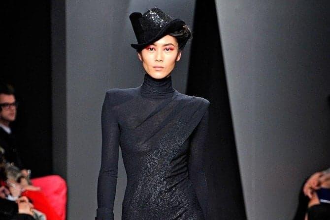 Donna Karen A/W 2012 Beauty, FashionBite
