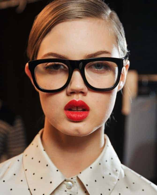 Marc Jacobs A/W 2012 Beauty, FashionBite