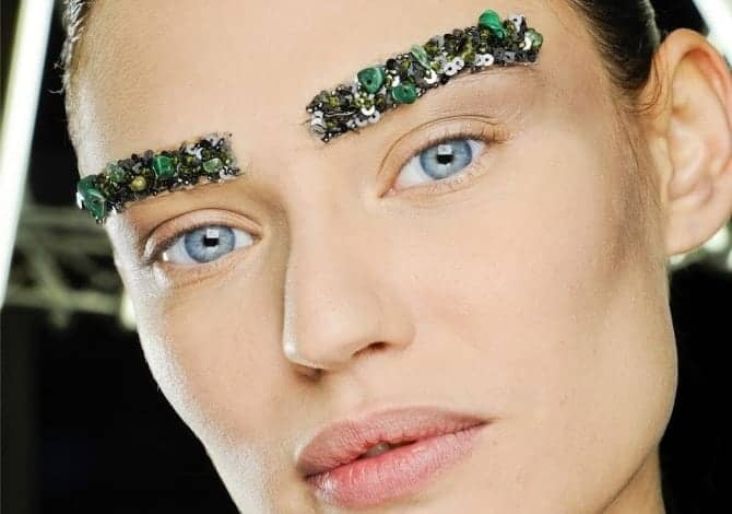 A/W Eyebrows at Chanel, FashionBite