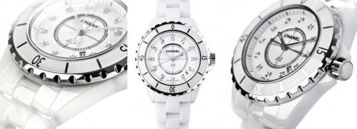 White Chanel J12 Watch, FashionBite