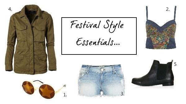 5 festival style essentials, FashionBite