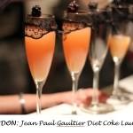 LONDON: Jean Paul Gaultier Diet Coke Launch
