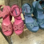 NEW SEASON: Ralph Lauren SS12 – Colourful wedges and re-worked vintage silks