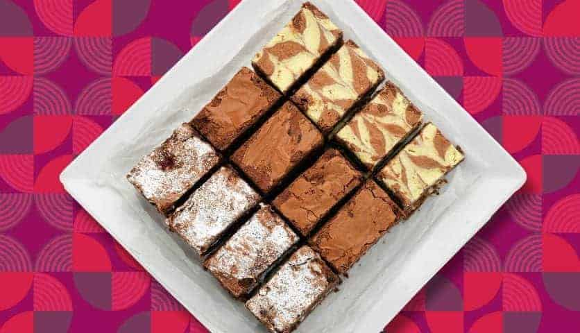 Brownie Sharing Gift Box Konditor & Cook