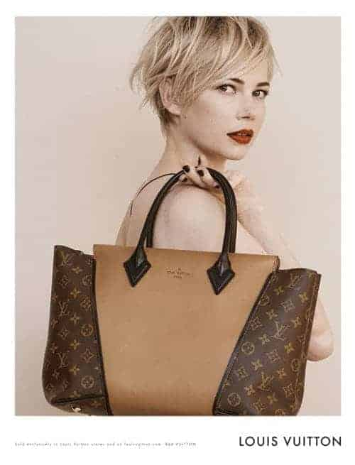 Michelle Williams for Louis Vuitton, FashionBite