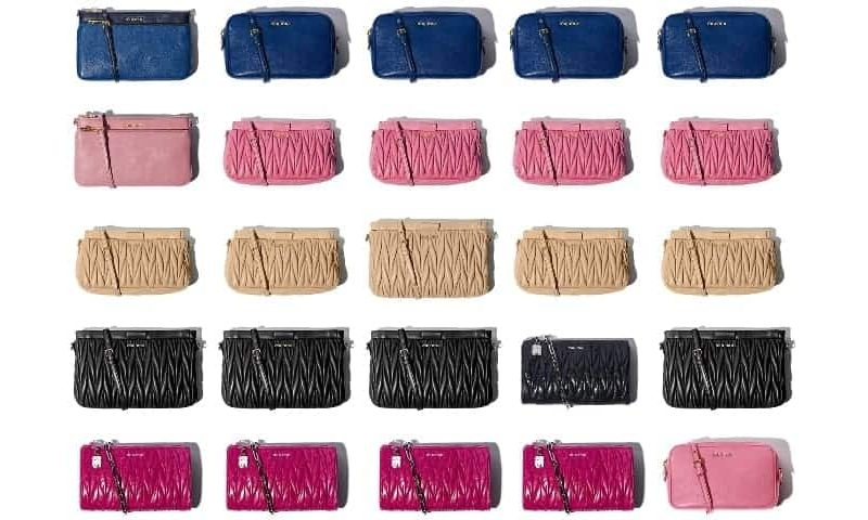 Miu Miu little bags collection, FashionBite