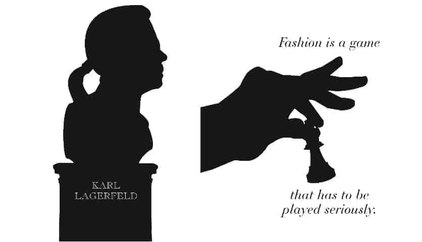 Karl Lagerfeld new book, FashionBite