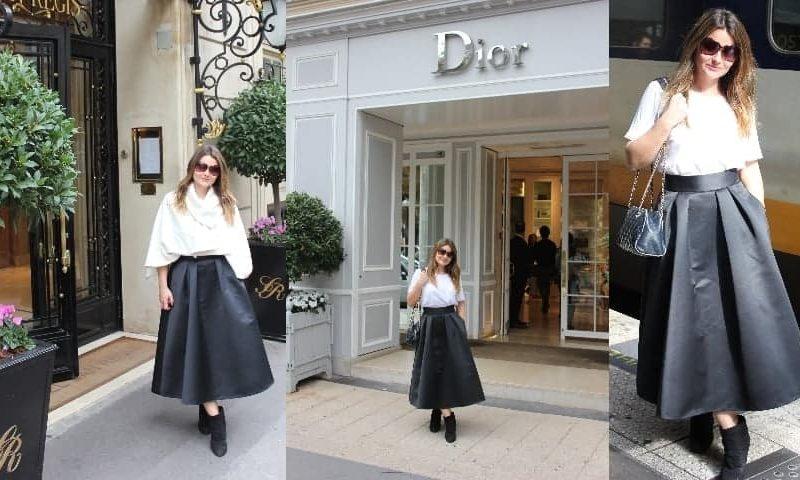 Paris fashion week, what i wore, FashionBite