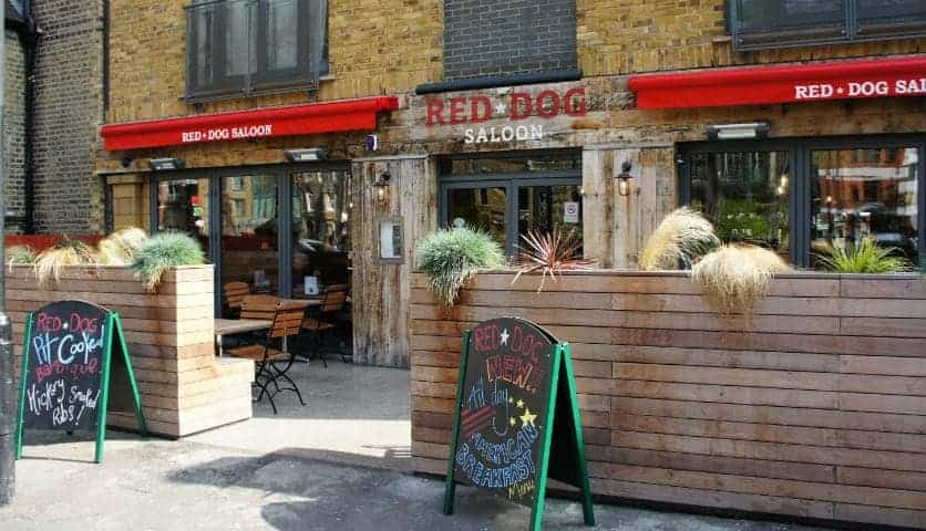 Where To Take The Boyfriend: Red Dog Saloon, Hoxton Square