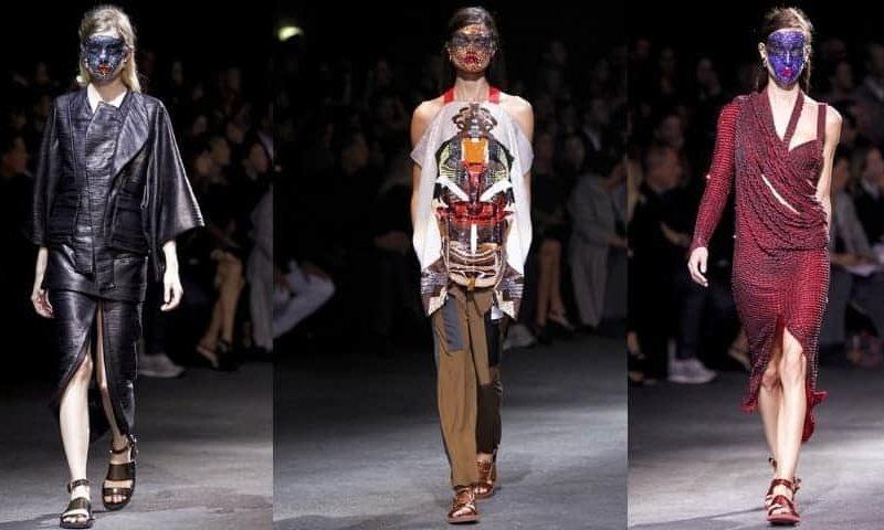 Givenchy SS14, Paris Fashion Week, FashionBite