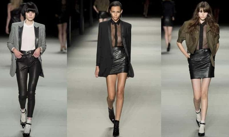 Saint Laurent SS14, Paris Fashion Week, FashionBite