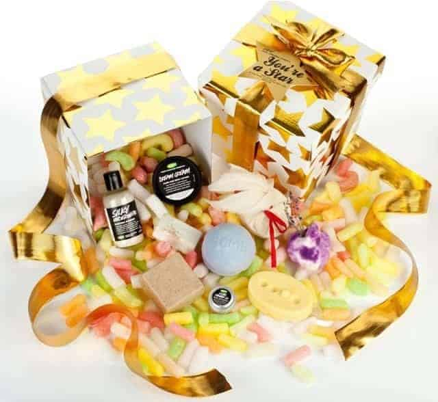Lush christmas hampers