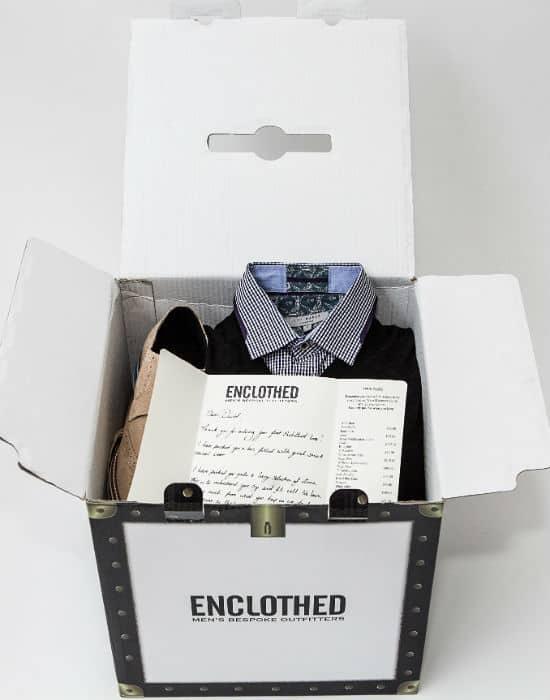 enclothed box