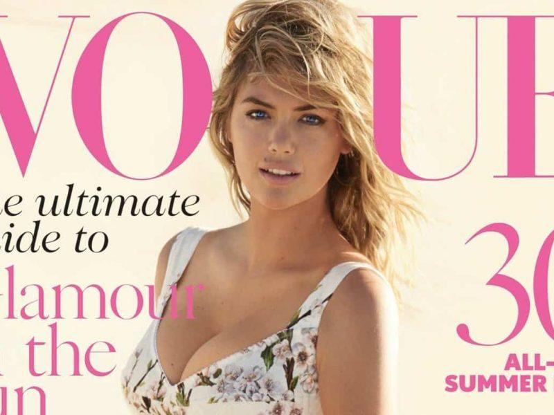 Kate Upton fronts Vogue, FashionBite