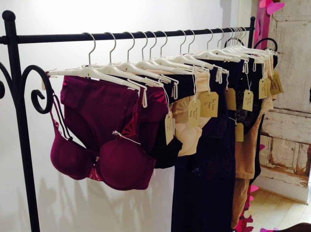 Triumph lingerie fitting, FashionBite