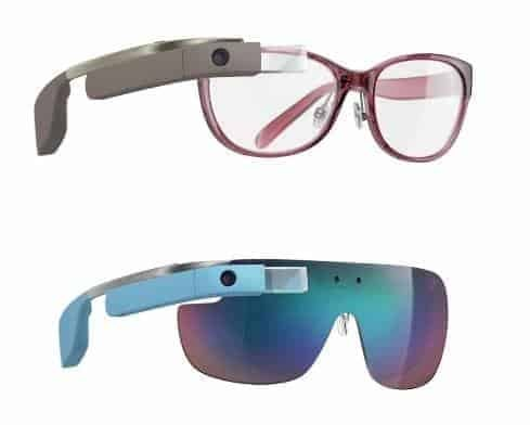 google glass by DVF, FashionBite