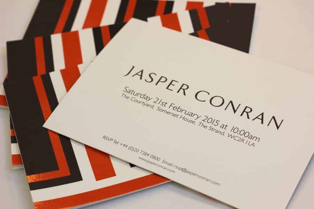From studio to catwalk with Jasper Conran, FashionBite