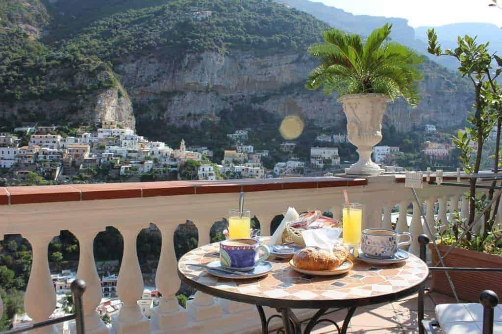 breakfast on the amalfi coast, FashionBite