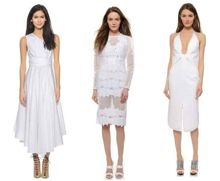 ss15 trend, head to toe white, FashionBite