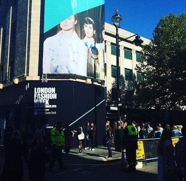 London Fashion Week's new Soho venue, SS16, FashionBite 5