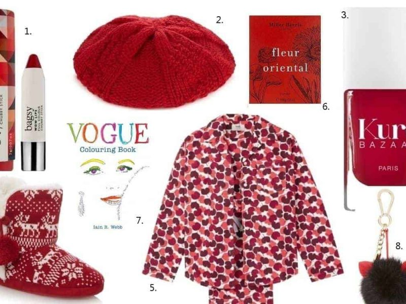 Christmas gift guide, berry reds for under £50, FashionBite