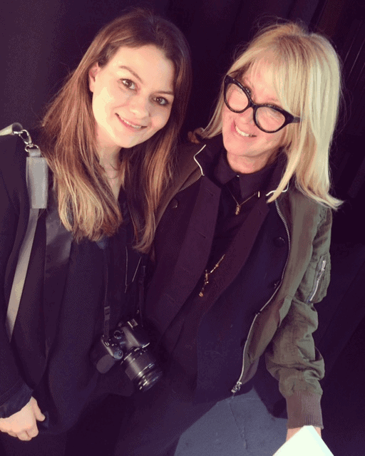 FashionBite's Emily Seares and Val Garland, LFW AW16