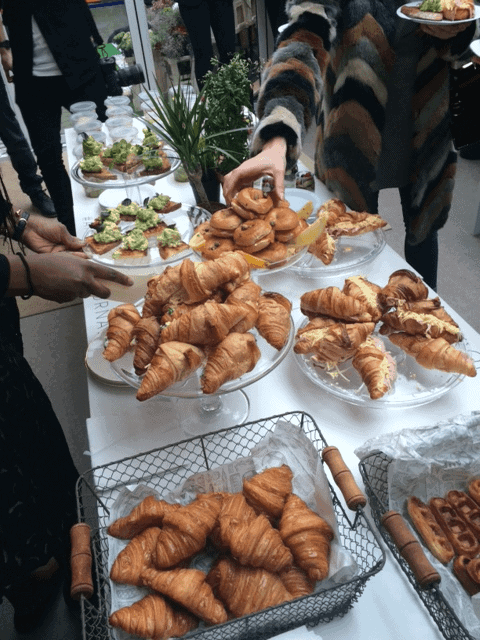 Breakfast during London Fashion Week, AW16