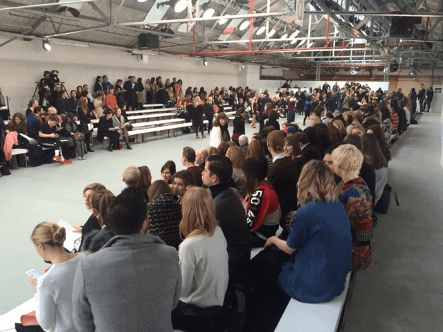 London Fashion Week catwalk space