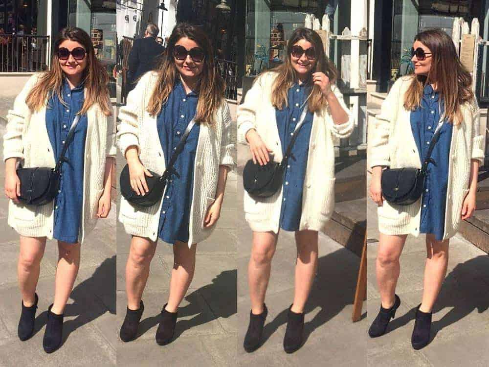 how to wear this season's denim, FashionBite