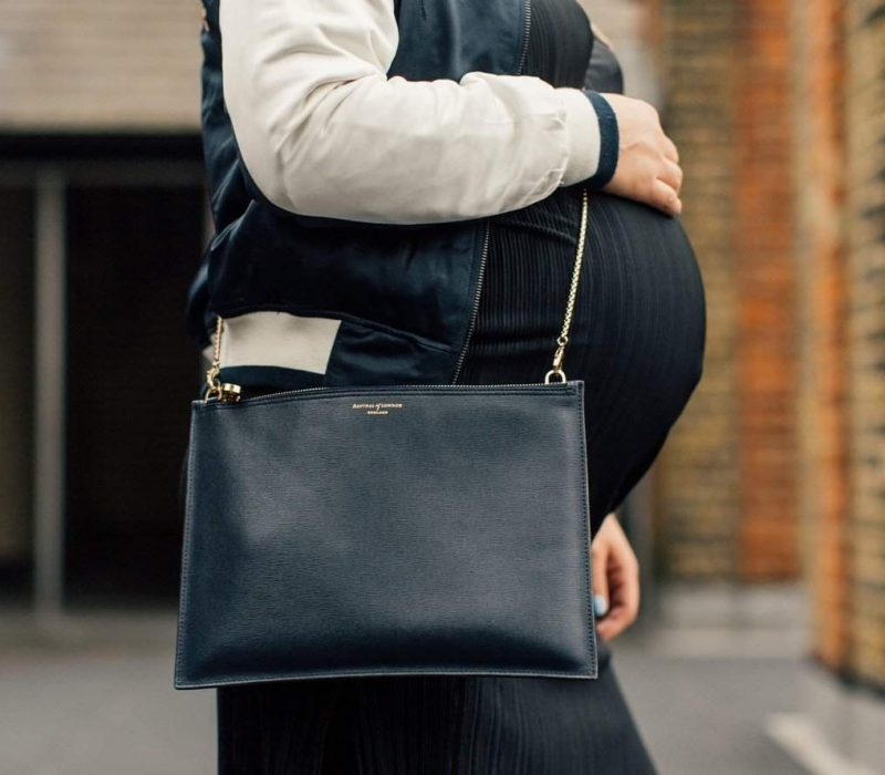 How to style your pregnancy bump from FashionBite's Emily Seares