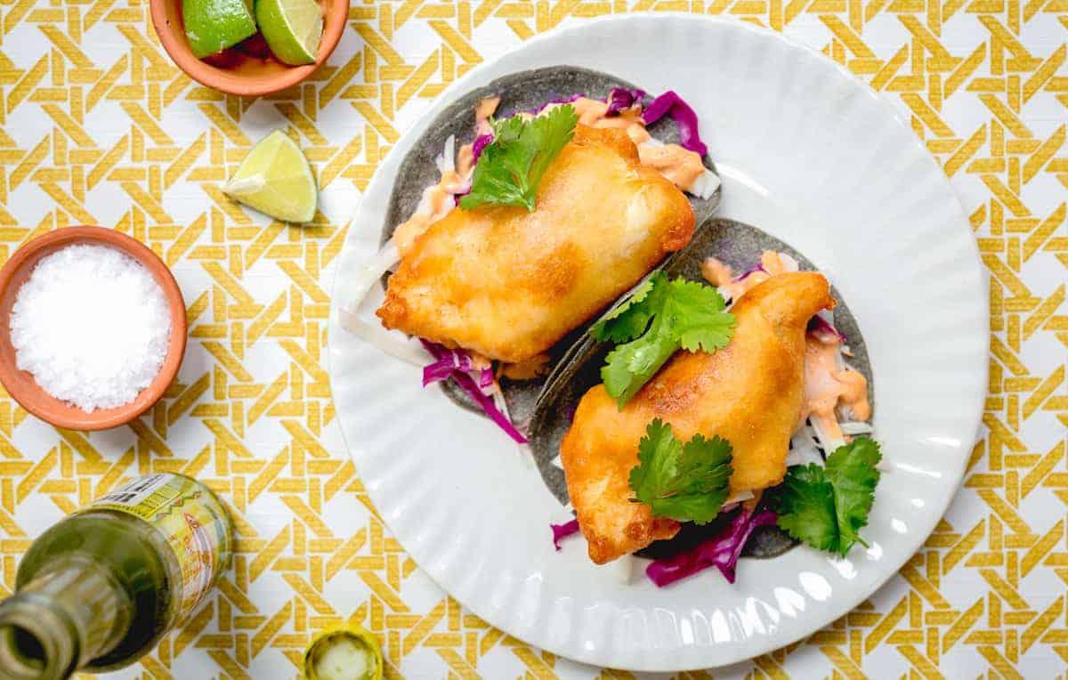corazón fish tacos