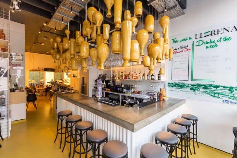 Llerena: Jamón & Salud Iberico Tapas Bar, Angel