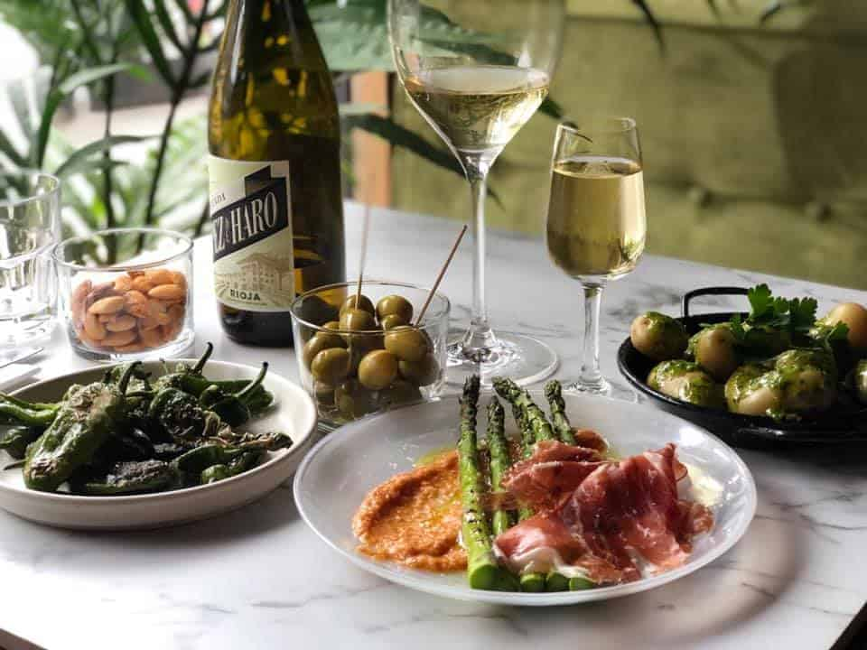 A Taste Of Spain In Stoke Newington At The Black Pig With White Pearls