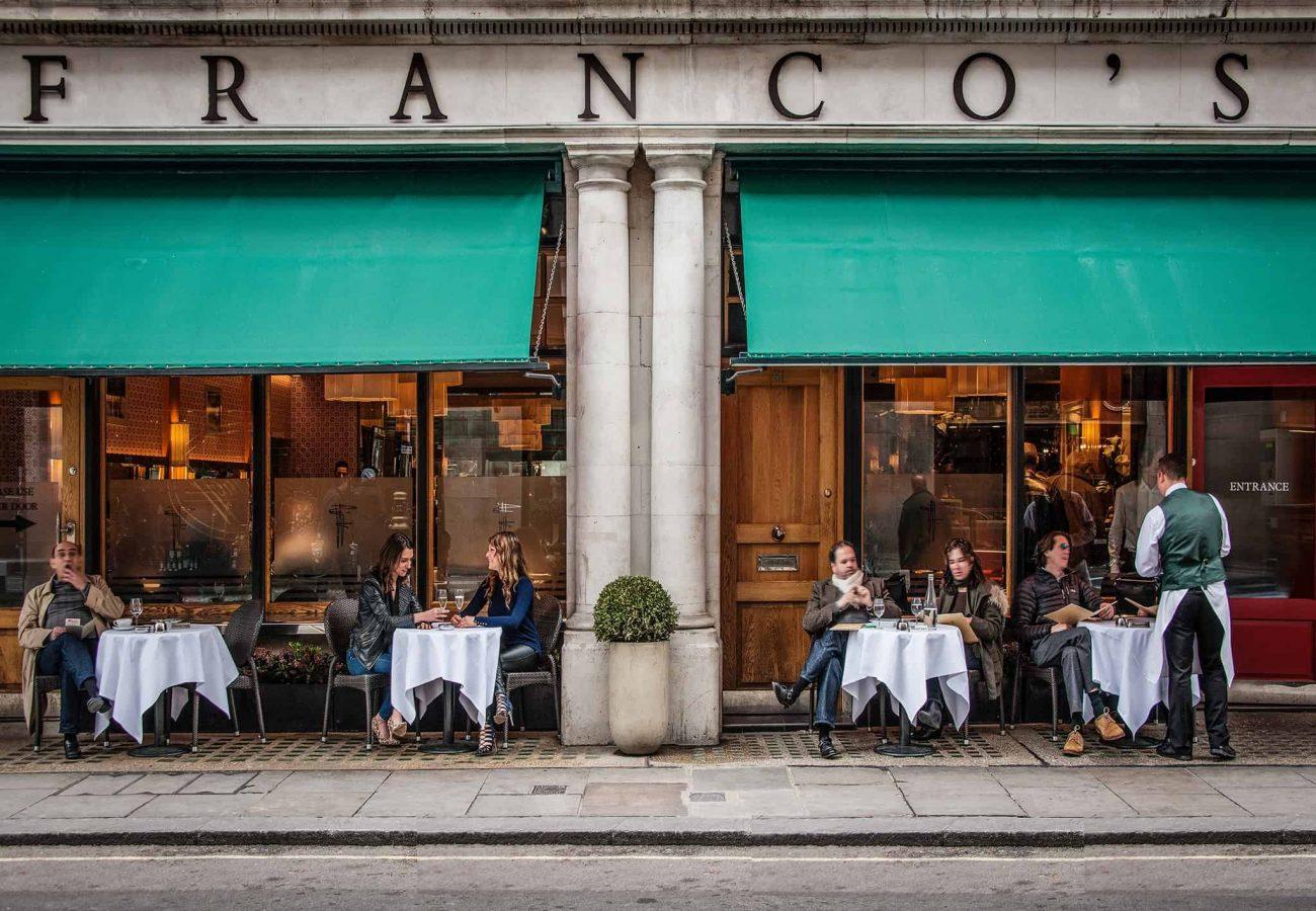 Dine Back In Time At Franco's, St James