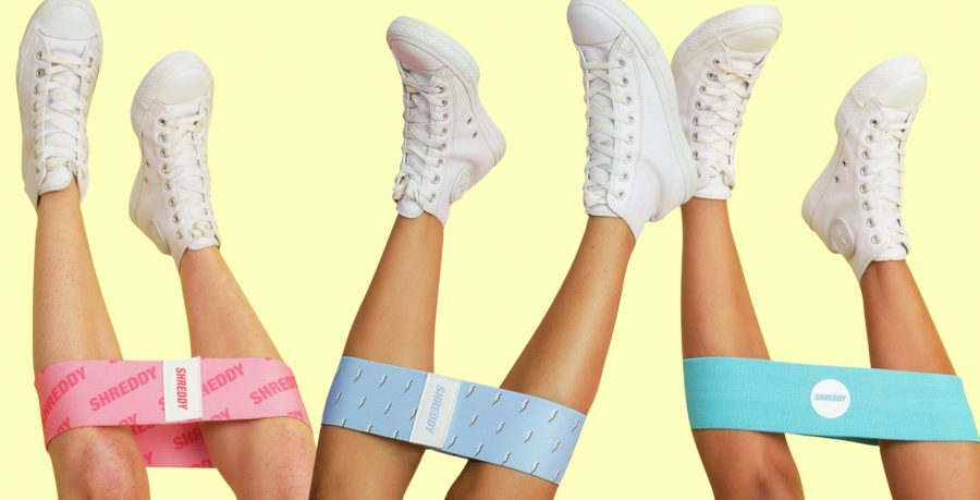 shreddy at home fitness resistance bands